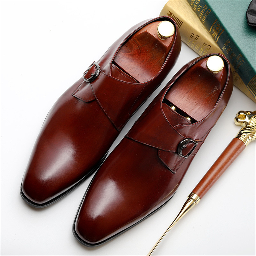 discount shop sneakers for cheap great deals Mens formal shoes leather oxford shoes for men dressing wedding ...