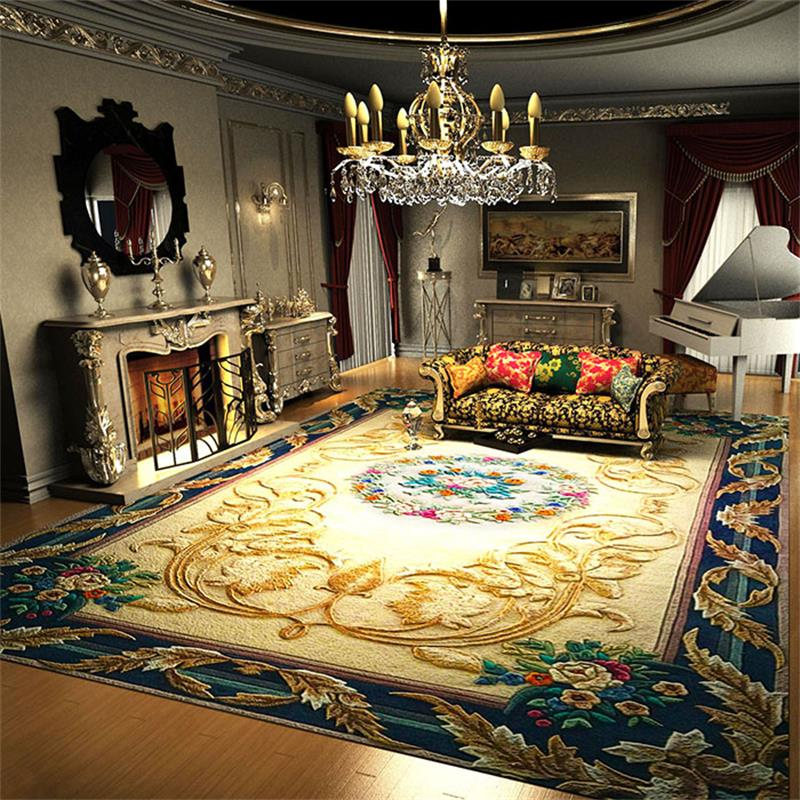 Luxury Wool Carpets For Living Room