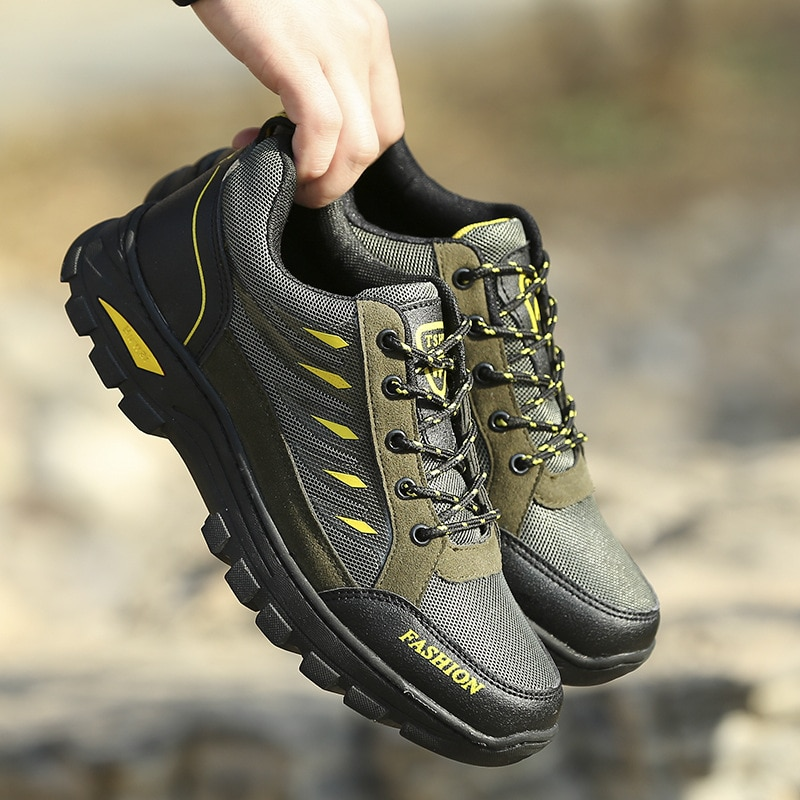 Men Casual Sports Shoes Outdoor Walking Sneakers Breathable Hiking Shoes Male Running shoes adult Training Jogging Footwear