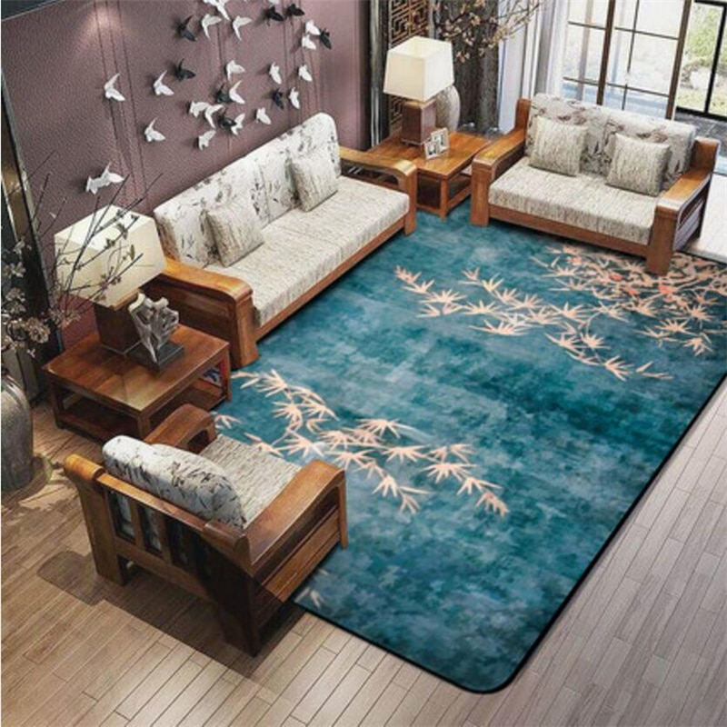 Traditional Style Soft Delicate Carpets For Living Room Bedroom Kid Rugs Home Carpet Floor Door Mat Fashion Rug