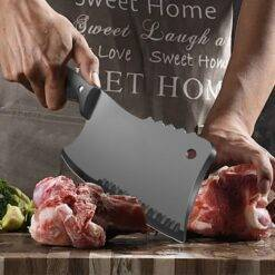 Butcher Knife Stainless Steel Bone Chopping Knife Meat Vegetables Slicing Cleaver High Hardness Kitchen Chef Knife Butcher Knife Chopper Home & Garden Home Garden & Appliance Kitchen Knives & Accessories Kitchen, Dining & Bar Meat Cleaver Multifunctional Knife cb5feb1b7314637725a2e7: Chef Knife|Knife Whetstone