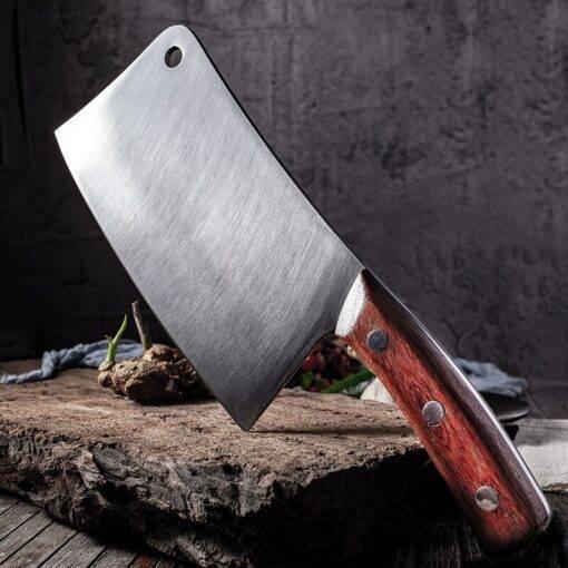 8″ Chop Bone Knife Heavy Duty Bone Chopping Knife Stainless Steel Chef Knife Vegetables Butcher Knife Meat Cleaver Kitchen Knife Butcher Knife Chopper Home & Garden Home Garden & Appliance Kitchen Knives & Accessories Kitchen, Dining & Bar Meat Cleaver Multifunctional Knife cb5feb1b7314637725a2e7: Chop Bone Knife