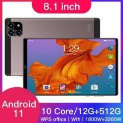 RAM 8GB ROM 128GB Tablet 11.6 Inch 2 in 1 1920*1080 6000mAh 10 Deca Core Android 9.0 Tablet Pc 4G Lte Dual Cameral 5MP + 13MP Computer, Office, Security d92a8333dd3ccb895cc65f: AU Plug|EU Plug|UK Plug|US Plug