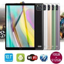 """S11 10.1"""" Tablet PC 2560*1600 5G WiFi 4G LTE 10Core 10GB+512GB ROM Android 9.0 8800mAh Dual Wifi Type-C 8MP+16MP Camera Tablets Computer, Office, Security d92a8333dd3ccb895cc65f: AU EU UK US"""