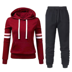 Casual Tracksuit Women Two Piece Set Suit Female Hoodies and Pants Outfits 2020 Women's Clothing Autumn Winter Sweatshirts New Women cb5feb1b7314637725a2e7: Beige Black black Blue blue Claret Clear Fluorescein Grey Lemon yellow Malachite blue Milky Pink pink Red White white