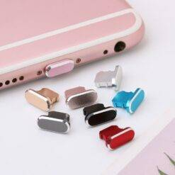 Anti Dust Charger Dock Plug Stopper Cap Cover For iPhone 13 12 11 Pro Max Mini X XS Max XR 8 7 Plus Metal Cell Phone Accessories Cell Phones & Accessories Cell Phone Accessories cb5feb1b7314637725a2e7: Black Blue Gold Green Red Sliver