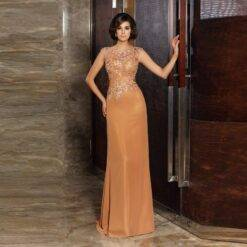 Stunning Elegant Orange Full Length Appliqued Beaded Mother of the Bride Dresses Cap Sleeves Jewel Neck Wedding Party Gowns 2021 Dresses Women cb5feb1b7314637725a2e7: Black|Blue|Champagne|Gold|Gray|Green|Ivory|Photo color|Pink|Purple|Red|Silver|White|Yellow