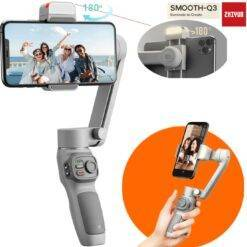 Zhiyun Smooth Q3 Combo 3-Axis Gimbal Stabilizer for Smartphone Foldable Gimbal with w/ Tripod Stand LED Fill Light for Tiktok Cameras & Photo Electronics 1ef722433d607dd9d2b8b7: China|France|Russian Federation|United States