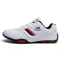 Fencing Shoes Men Fencing Competition Training Shoes Cushioning Wear-resistant Non-slip Breathabl Lightweight Sneakers Bags and Shoes cb5feb1b7314637725a2e7: Black|White